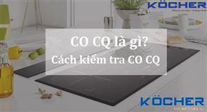 CO CQ là gì, cách kiểm tra COCQ đơn giản nhất