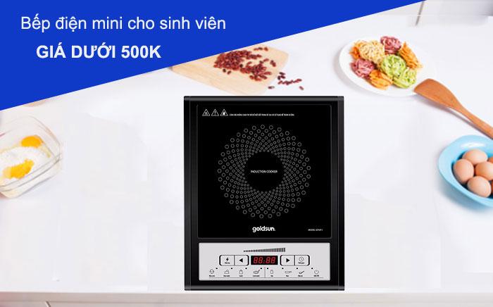 Top 5 bếp điện từ giá rẻ cho sinh viên dưới 500k
