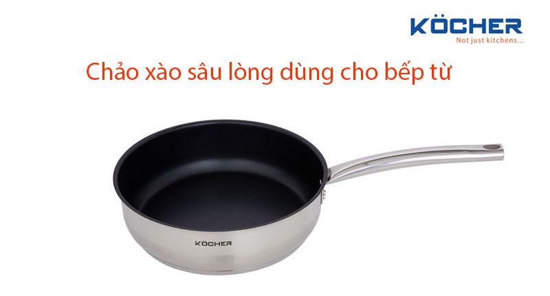 Top 6 mẫu chảo xào sâu lòng dùng cho bếp từ