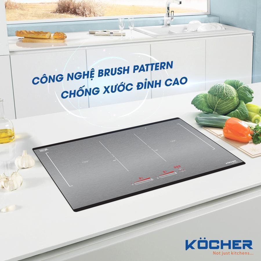 Đón đầu xu hướng với phong cách thiết kế bếp từ DIB4-888MI bằng công nghệ Brush Pattern?