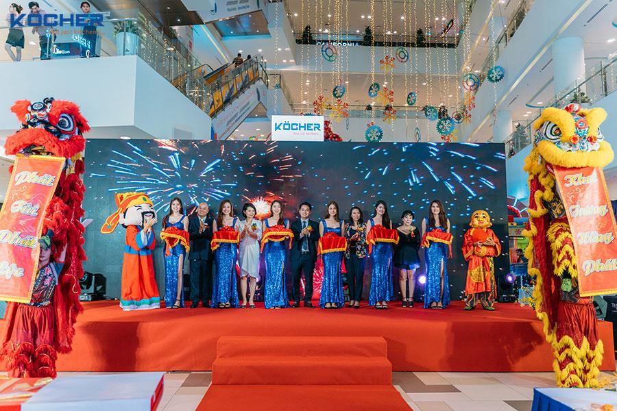 Khai trương chi nhánh Kocher Hồ Chí Minh – Bệ phóng phát triển khởi đầu cho những thành công lớn