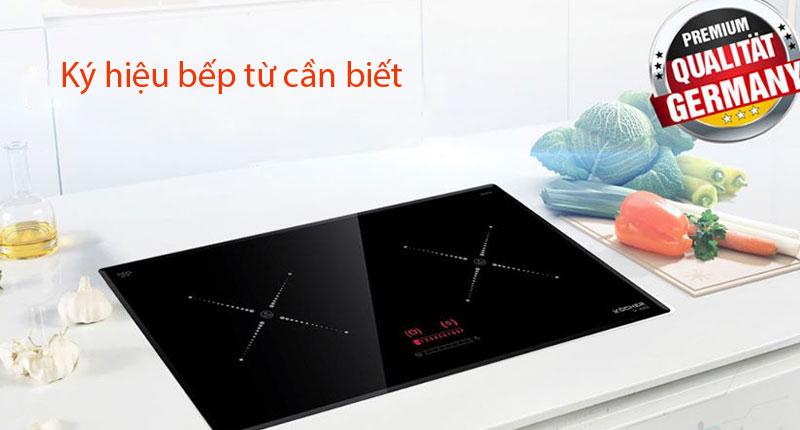 Tổng hợp các ký hiệu bếp từ & cách sử dụng