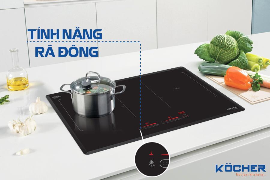 Phương pháp rã đông an toàn, nhanh chóng mà vẫn giữ được độ tươi ngon, chất dinh dưỡng của thực phẩm trên bếp từ Kocher DIB4-888?